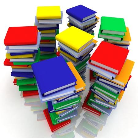 stacks of books Stock Photo - 12406146