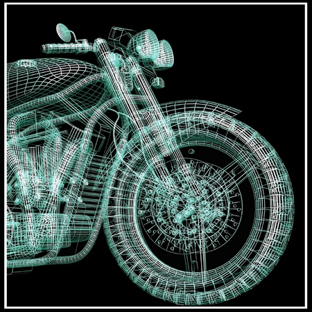 picture of sport bike Stock Photo - 12406235