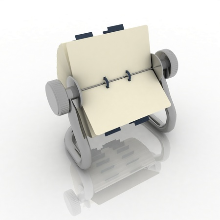 rolodex Stock Photo - 12800649