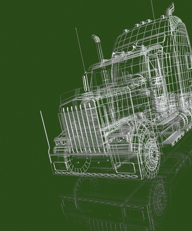 3d automobile Stock Photo