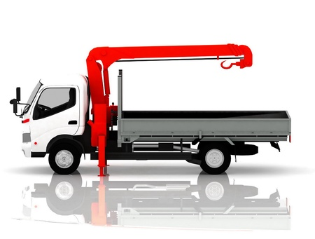 tow  truck  of cars Stock Photo - 12922840