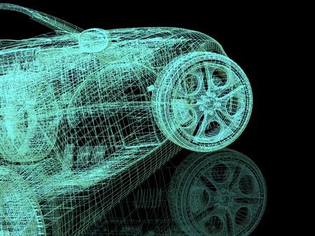 3d model cars photo