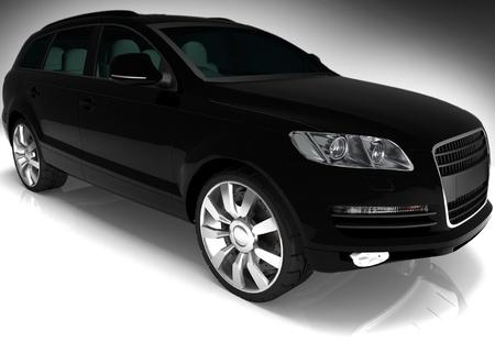 black auto Stock Photo - 13407838