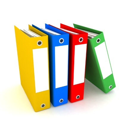 folders for papers photo