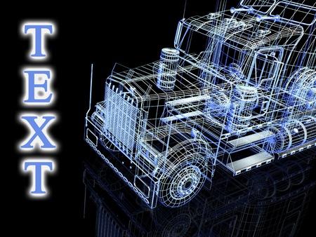 3d truck