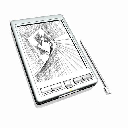 Pocket PC Stock Photo - 13859400