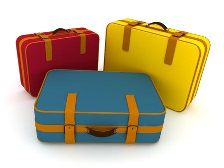Suitcases photo