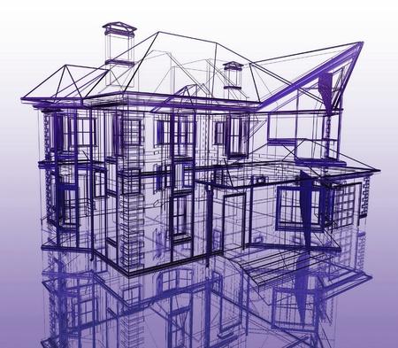 schematic: Abstract Modern Architecture