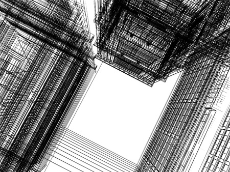 Abstract Construction photo