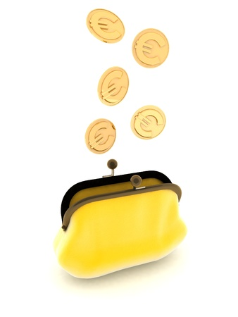 yello: Yello Purse Coin Euro
