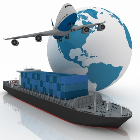 cargo plane: types of transport of transporting are loads.