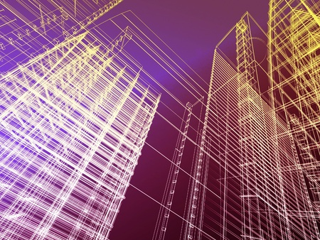abstract architectural background photo