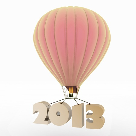 2013 a year flies on a balloon photo