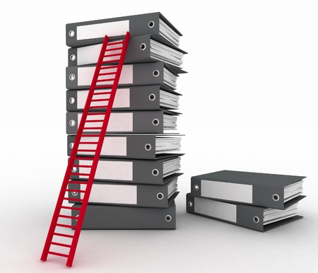 advancement: Folders and ladder. Conception of career advancement