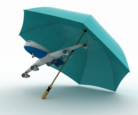 cancellation: Passenger plane flies under the umbrella
