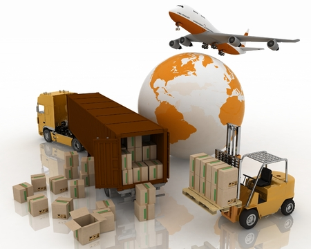 transporting: types of transport of transporting are loads