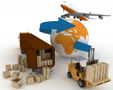 輸送の輸送のタイプは負荷