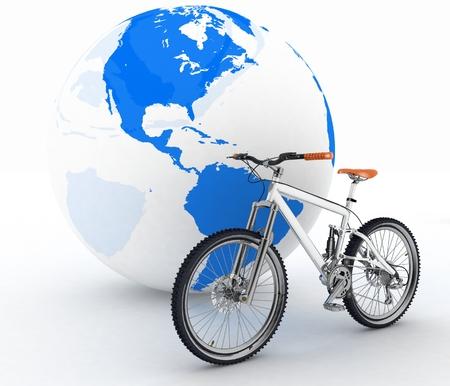 turismo ecologico: Bicicletas y globo. Concepci�n del turismo en un transporte ecol�gico