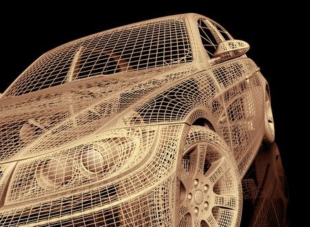 모델 자동차