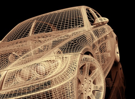 raytraced: model cars