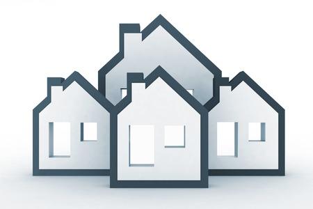 residency: Models houses symbol