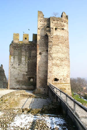 \ bastion of the Scaliger Castle Editorial