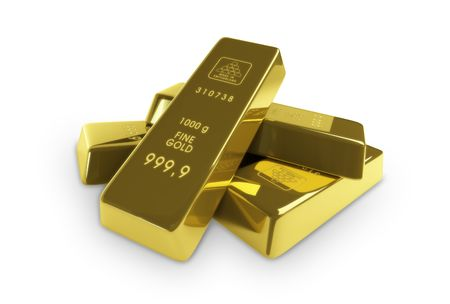 gold ingot: gold-bars
