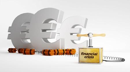 financiele crisis: evro in de fase van financiële crisis