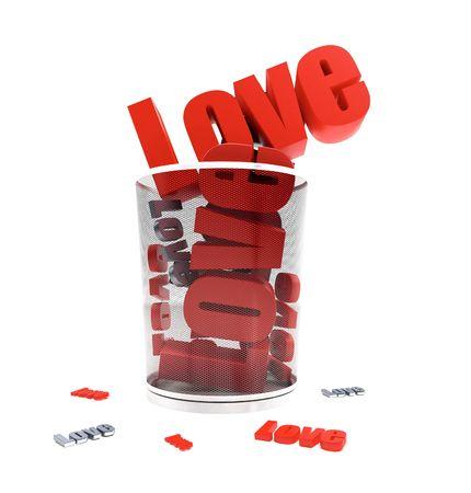 the loss of love through a financial crisis Stock Photo - 4856883