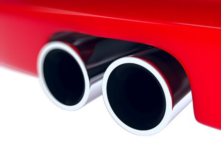 exhaust: sporting muffler