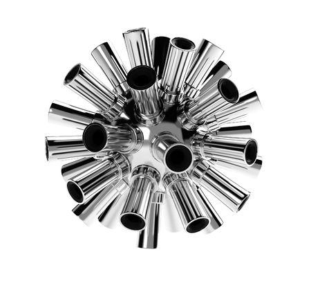 metal parts: automobile ecology Stock Photo