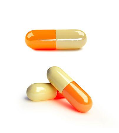 pills isolated Stock Photo - 5345721
