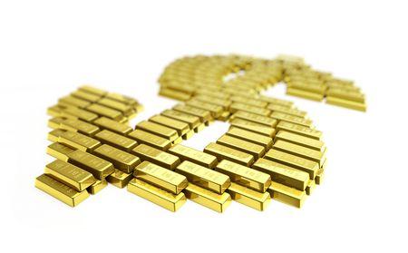 gold dollar Stock Photo - 5664724