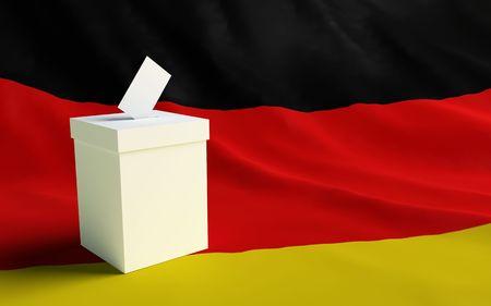 voter: voter Germany Stock Photo