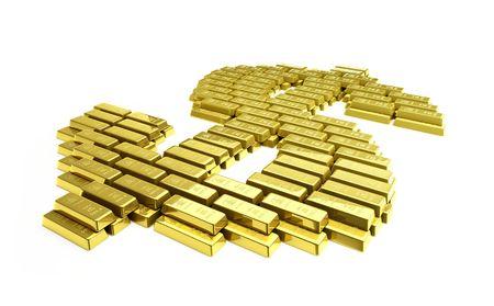 gold dollar Stock Photo - 5664880