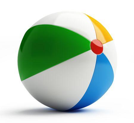 beach ball photo