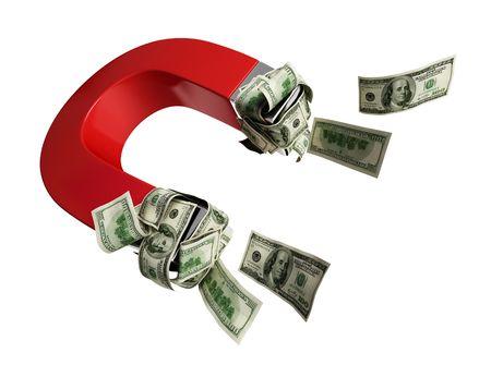 magnetize: magnet dollar