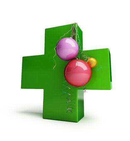 cross hospital new year photo