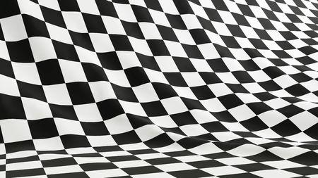 cuadros blanco y negro: la bandera de la F�rmula 1