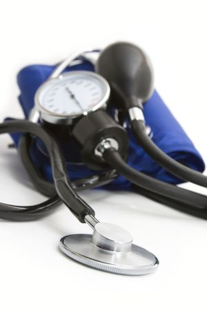 momanometr and stethoscope Stock Photo - 6341364
