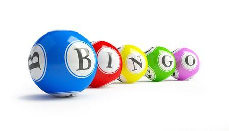 money sphere: bingo balls