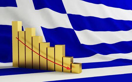 crisis in Greece Stock Photo - 7012722