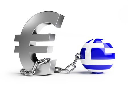 crisis in Greece Stock Photo - 7012720