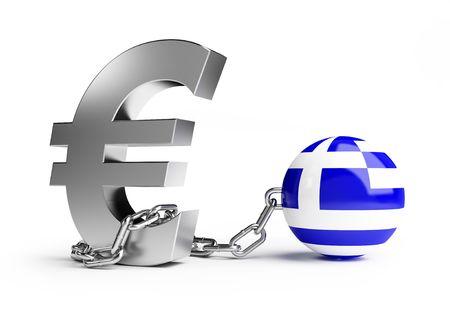 crisis in Greece Stock Photo - 7012720
