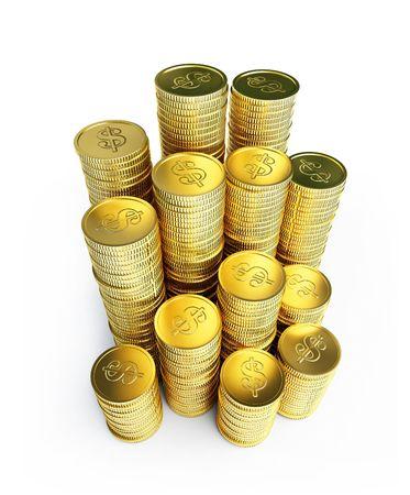 gold coins Zdjęcie Seryjne