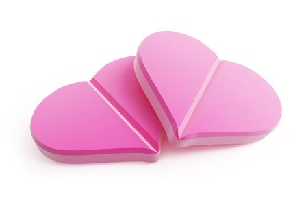 tablets from the heart Stock Photo - 7094819