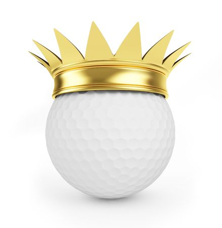 golf gold crown  photo