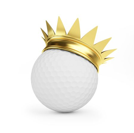 golf gold crown  photo