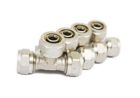 guarniciones: accesorios para tubos de metales