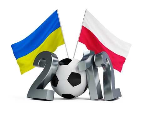 Europe on football 2012 Ukraine and  Poland